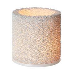 Discover the Iittala Fire Votive - White - at Amara White Lanterns, Candle Lanterns, Votive Candle Holders, Votive Candles, Candleholders, Candels, Fire Candle, Ceramic Lantern, Houses