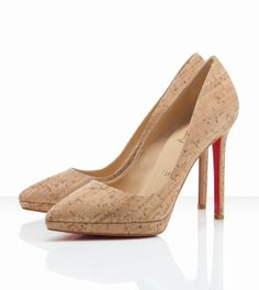 Christian Louboutin Pigalle Plato 120mm Naturale