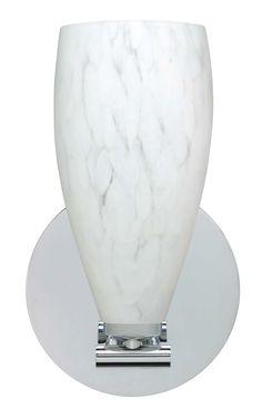 "One Light Wall Sconce 40w halogen 5"" wide $193.60"
