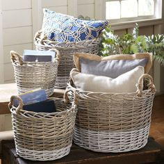 Found it at Wayfair - Willow Handled Baskets