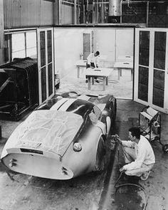 "Daytona Coupe ""Guardsman Blue"" posiblemente para Le Mans en 1964 :: pasionporlosmotores:"
