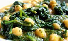 Суп с нутом и зеленью