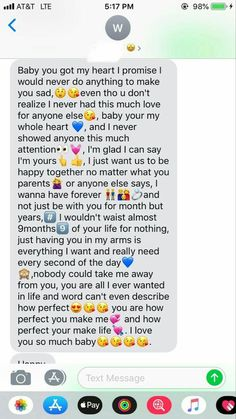 75 Sweet And Romantic Relationship Messages & Texts Which Make You Warm - Page 56 of 77 Paragraphs For Your Boyfriend, Love Text To Boyfriend, Cute Boyfriend Texts, Birthday Message For Boyfriend, Boyfriend Quotes, Boyfriend Messages, Cute Paragraphs For Him, Goodnight Texts To Boyfriend, Message To Girlfriend