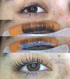 Lash Lift Kit Sure, the bushy perms of the might be out of vogue, but there are abundance (gener Eyelash Lift And Tint, Eyelash Tinting, Eyelash Perm, Using A Curling Wand, Make Up Inspiration, Natural Eyelashes, Natural Brows, Air Dry Hair, Permed Hairstyles