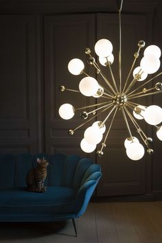 #Chandelier Lamp by #Magic Circus Éditions - #ohmygold #agoldenidea #goldenlamps