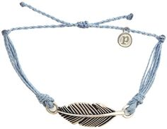 Silver Feather Columbia Blue