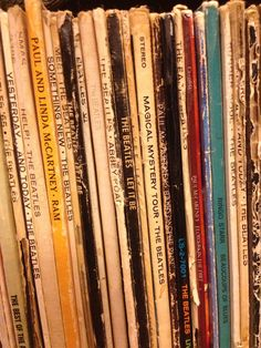 Inheriting your family's old records. | 36 Things Vinyl Collectors Love
