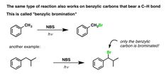 """Reactions on the """"Benzylic"""" Carbon: Bromination And Oxidation — Master Organic Chemistry Smarty Pants, Organic Chemistry, Science And Nature, Bond, Language, Positivity, Notes, English, Education"""