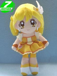 Smile Precure Cure Peace Plush Doll SPPL8001