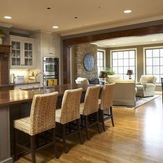 Open Concept Design, Pictures, Remodel, Decor and Ideas - page 9