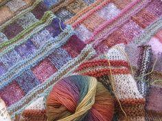 Ravelry: mimikaolin's Variation of Tartan scarf, for a kimono vest