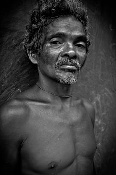 Uomo di Orissa, India