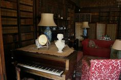Home Libraries, Piano, Castle, October, Music Instruments, House, Musical Instruments, Home, Pianos