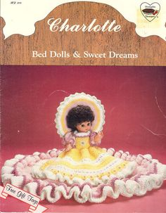 1987 Dumplin Designs Charlotte Bed Dolls & Sweet by NookCove, $5.99  I have a fresh supply of Dumplin Design Doll patterns and will be listing them over the next several days.