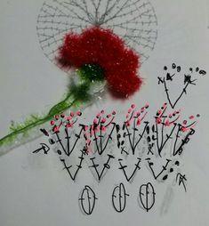 Carnations, Diy Crochet, Doilies, Table Runners, Pot Holders, Dream Catcher, Crochet Patterns, Knitting, Charts
