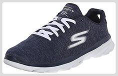 Performance Go Run Fast, Chaussures de Fitness Homme, Noir (Black/Blue), 46 EUSkechers
