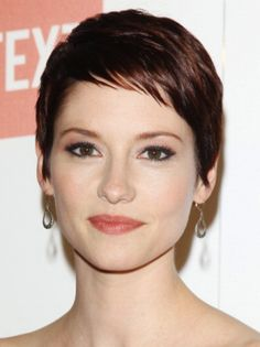Short hair cut - Chyler Leigh