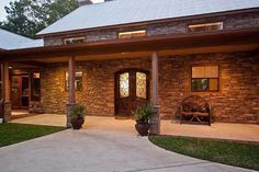 Hill Country Home with Massive Porch - 46052HC thumb - 03