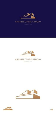 Architecture studio logo - Professional logo design, modern and stylish - Full editable - Vector - CMYK — ready to print - Free font used Free fonts links: Bauunternehmen Logo, Logo Branding, Branding Design, Building Logo, Studio Logo, Web Design, Home Design, Graphic Design, Corel Draw Design