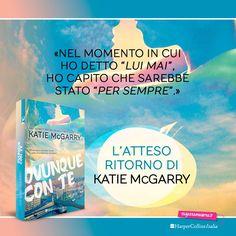 """Una storia d'amore magica, tante emozioni e protagonisti indimenticabili...questa è la serie Thunder Road! Sta per arrivare """"Ovunque con te"""", il nuovo romanzo di Katie McGarry! #OvunqueConTe"""