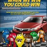 """M'S Racing """"When We Win, You Could Win"""" & Win $100 VISA Gift Card and M'S Racing Prize Pack"""