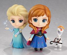 Always looking out for her older sister, Nendoroid Anna is also being rereleased. From the hit film 'Frozen' comes a rerelease of Nendoroid Anna, the younger sister who longs to reconnect with her sister Elsa! The cute freckles on her face hav. Anna Frozen, Film Frozen, Frozen Cake, Frozen Party, Frozen Birthday, Cute Frozen, Anna Disney, Cute Disney, Disney Frozen