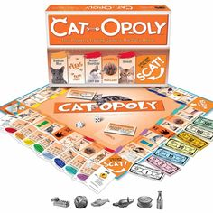 Cat-Opoly Board Game - is this real life?