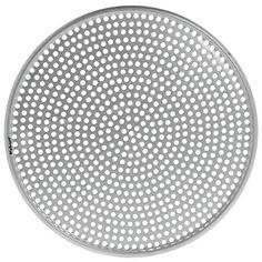 Aluminum Thunder Group ALPZ13 13-Inch Seamless Rim Pizza Screen