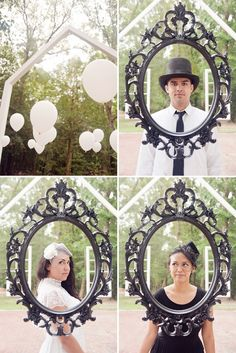 "Happy international Saturday :-) This week we are in Viginia for a striking style wedding shoot with a Geometric meets Victorian influence. I just love the chevron table settings, the balloons, the architecture and the tea party feel. Such lovely ideas. Thanks so much to Audra Wrisley Photography & Design for sharing her images with us today, here is what she had to say about the shoot;  ""This photoshoot, entitled ""Through the Looking Glass,"" pulls inspiration from the concept of fusing…"