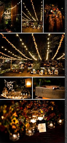 Marry You Me: Real Wedding: Backyard Fall Wedding