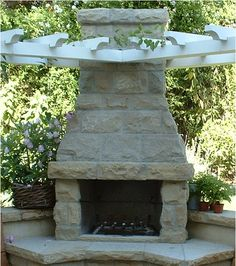 How To Build Outdoor Fireplaces Using Old Wood Stoves