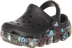 89a5a84b7 Crocs Duet Splatter Clog in Black Black.  crocs  duetsplatterclog  black   boyscrocs  slipons  boys