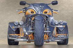 This is looking pretty cool for a VW Trike.