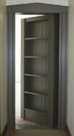 Secret door This would be nice for a big closet for me and zach and our & Create Storage u0026 Intrigue With A Secret Door | Pinterest | Closet ...