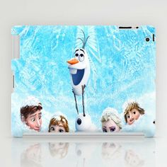 FROZEN OLAF iPad Case by BESTIPHONE5CASESHOP on Wanelo
