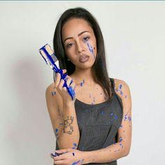 Celebrity Makeup Artist / Creative Director @tiffanykhannyc  Model: @brooklyynn_xc wearing Lipstick Colour: KUMIKO with Lip Liner: WINERY www.takiemoto.com