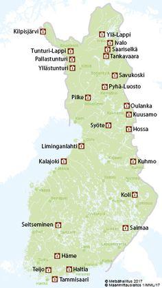 Luontokeskukset - Luontoon.fi