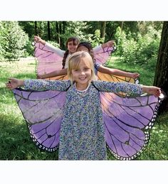 Magic Cabin Fanciful Fabric Butterfly Wings Toys & Creative Play in {productContextTitle} from {brandTitle} on shop.CatalogSpree.com, your personal digital mall.