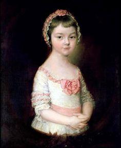 Georgiana Spencer future Duchess of Devonshire by Thomas Gainsborough, c. 1760