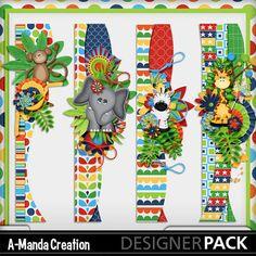 Jungle Adventures by A-Manda Creations