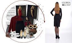 Μαύρη φούστα GLORIA