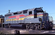 RailPictures.Net Photo: LN 3009 Louisville & Nashville EMD GP40 at Hamlet, North Carolina by Sid Vaught