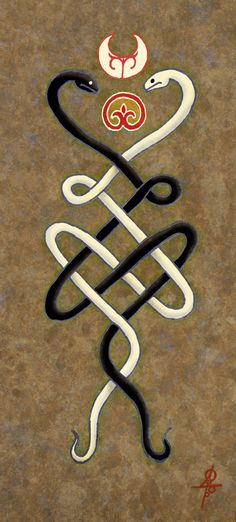 """#mythology, #pagan, #slavic_mythology, #pagan_mythology """"The Snakeknot"""" http://vesemir.blogspot.ru/2015/11/snakenode.html"""