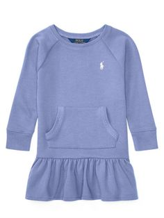 2–6X French Terry Dress - Personalization Dresses & Rompers - RalphLauren.com