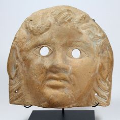 - A Roman Terracotta Mask of a Satyr, ca 1st century AD ./tcc/  More At FOSTERGINGER @ Pinterest