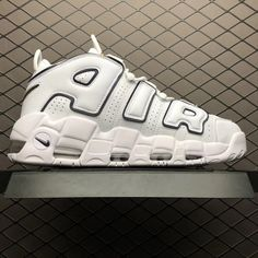 best service 7d9c4 031d5 Nike Air More Uptempo White Black Yellow Basketball Shoes-4 Nike Air  Uptempo, New