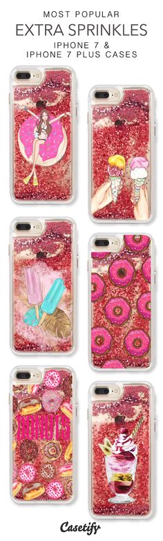 Most Popular Extra Sprinkles iPhone 7 Cases & iPhone 7 Plus Cases. More liquid glitter iPhone case here >  https://www.casetify.com/en_US/collections/iphone-7-glitter-cases#/https://www.casetify.com/en_US/collections/iphone-7-glitter-cases#/?vc=MxJXZw2vJw