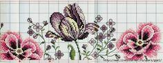 Beaded Cross Stitch, Cross Stitch Rose, Cross Stitch Patterns, Borders And Frames, Cross Stitching, Blackwork, Swirls, Hand Embroidery, Flowers