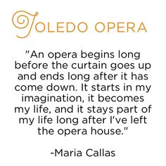 Quote from Maria Callas