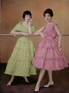 Maggy Rouff - & Jacques Griffe Gowns - L'Officiel De La Mode 443-444 (1959)